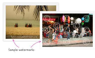 sample watermarks