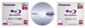 panasonic blu ray disk