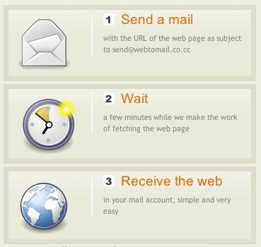 web2mail