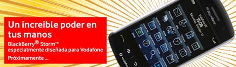 Blacberry Vodafone