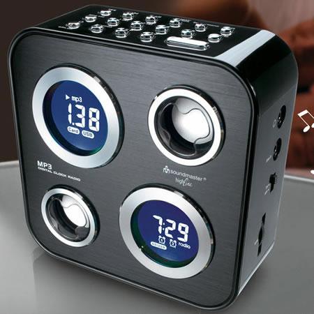 Radio despertador Soundmaster