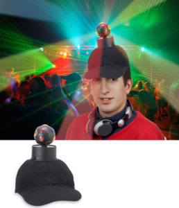 disco ball hat