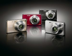 sony cybershot w270 gama colores