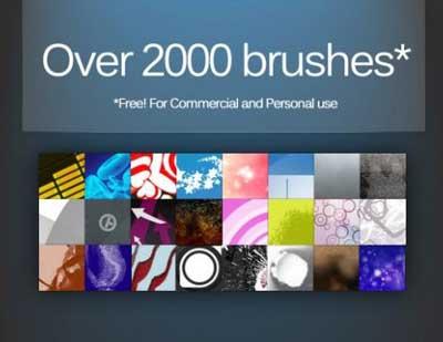 2000 free photoshop brushes