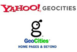 Yahoo geocities logo