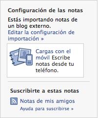 Como usar Facebook con tu lector de feeds