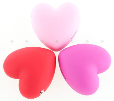 heart usb chargers