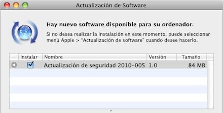 Actualizacion De Seguridad 2010 005