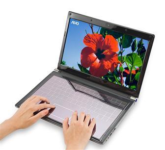 auo teclado solar y pantalla 3d1