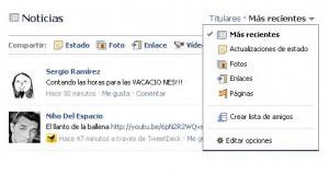 facebook actualizacion