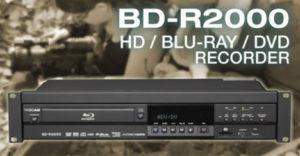 tascam bd r2000