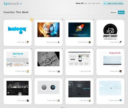 Favwork, un sitio para compartir pequeñas imágenes
