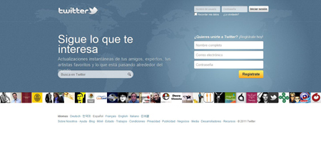 nuevo twitter abril 2011