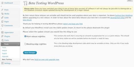 wordpressbetatester