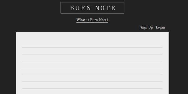BurnNote