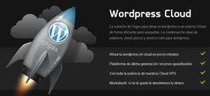 gigas alojamiento nube wordpress