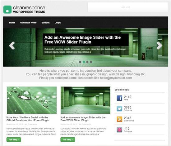 cleanresponse-responsive-theme