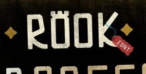 custom rook font