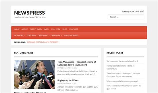 newspress-theme-gratis