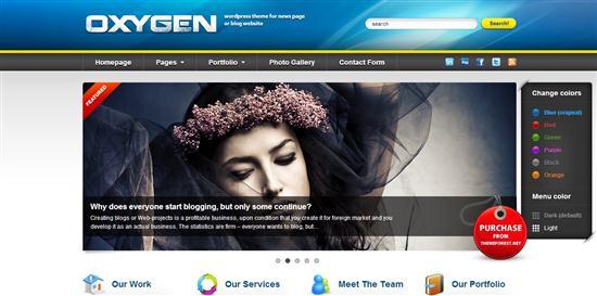 oxygen-theme-wordpress-empresas