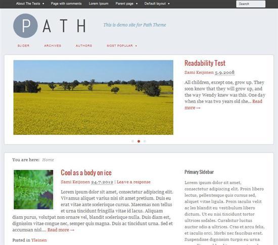 path-responsive-theme