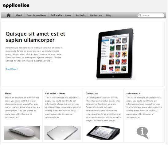 application-wordpress-theme