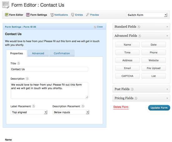 formulario-contacto-wordpress