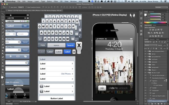 Photoshop e Illustrator ya soportan Retina Display