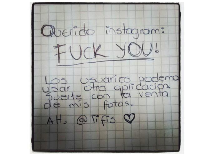 Querido Instagram