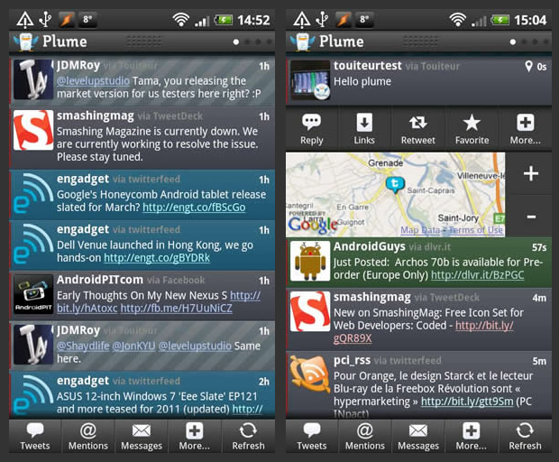 Plume Android