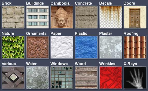 texturas en 3d