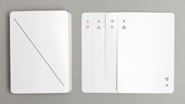 El diseño de cartas de poker más minimalista que hayas visto
