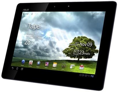 Tabletas Asus CES 2012