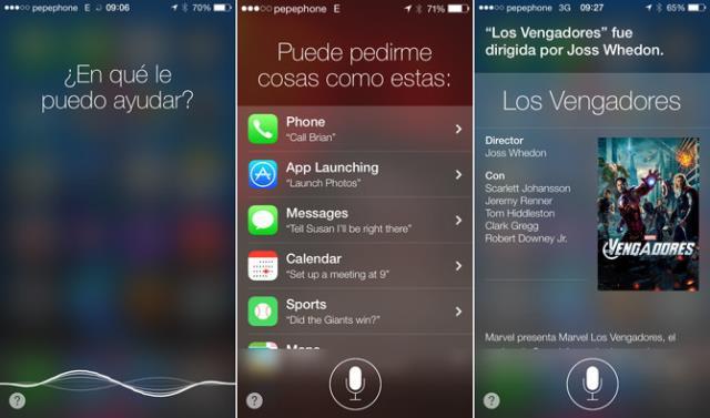 Siri iOS 7 2