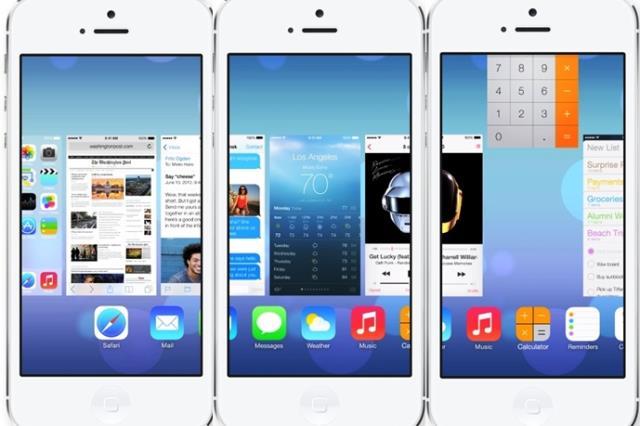 aplicaciones activas en iOS 7