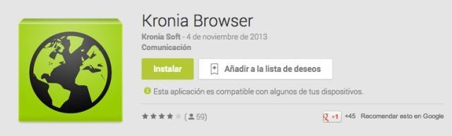 Kronia Browser