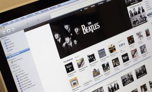 The Beatles música Internet 2 (500x200)