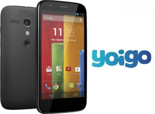 Yoigo Moto X 1
