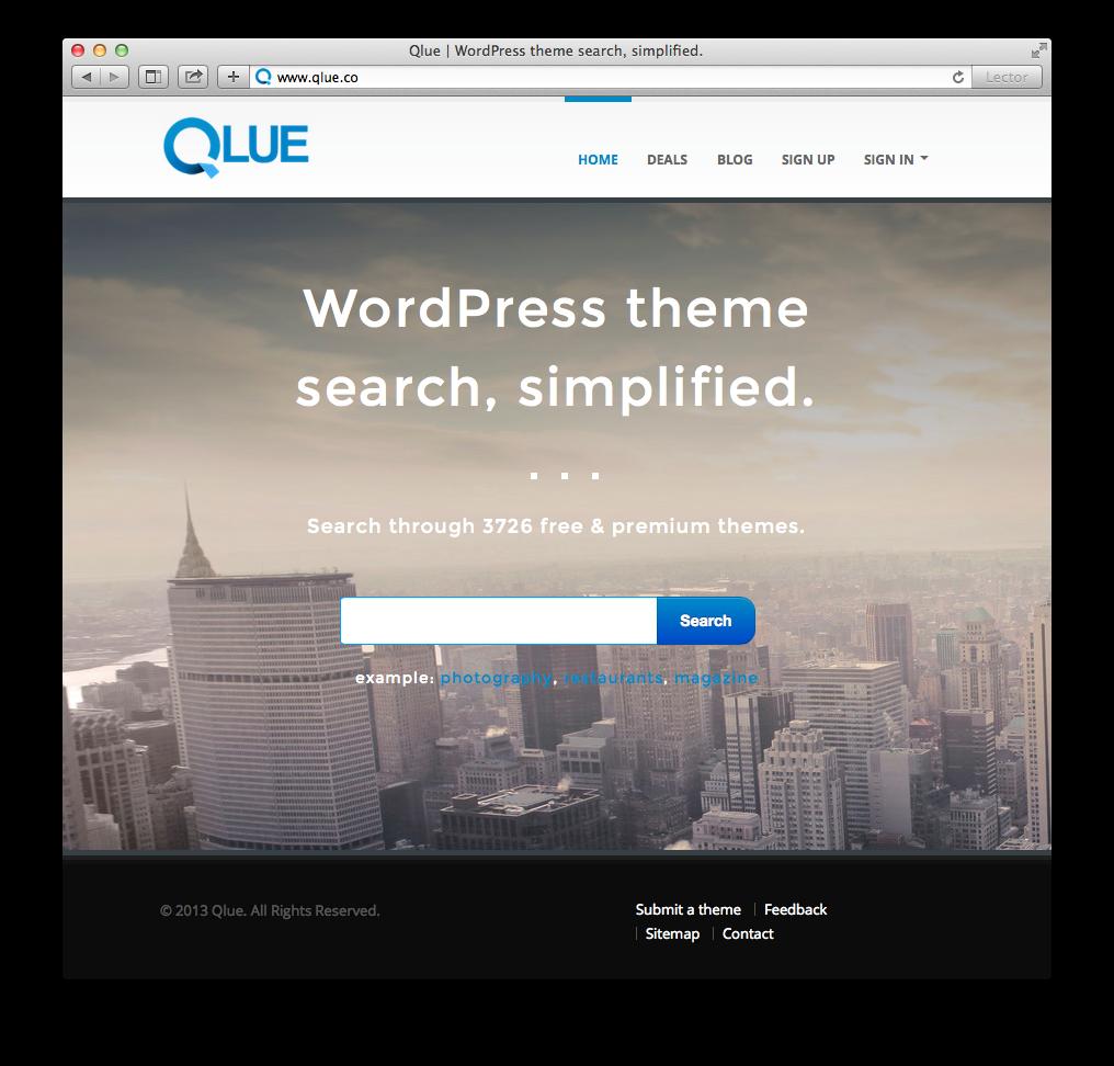 qlue-un-buscador-de-temas-para-wordpress-diariothc
