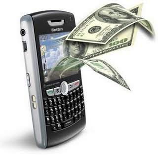 dinero y móvil