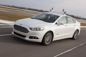 Ford presenta la conducción autónoma  en el Mobile World Congress 2014