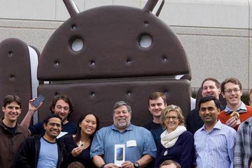 Steve Wozniak iPhone Android 2