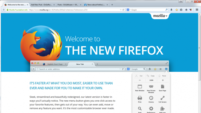 Firefox 29 1