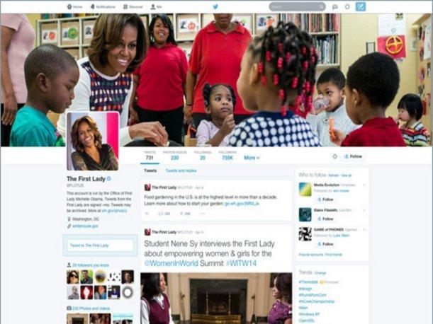 Twitter nuevo diseño 1