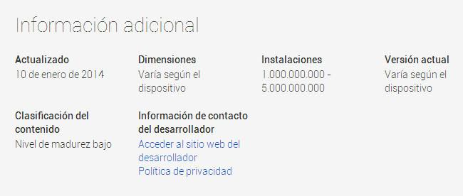 Gmail 1000 millones descargas 2