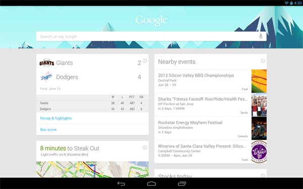 Google Now Internet 2