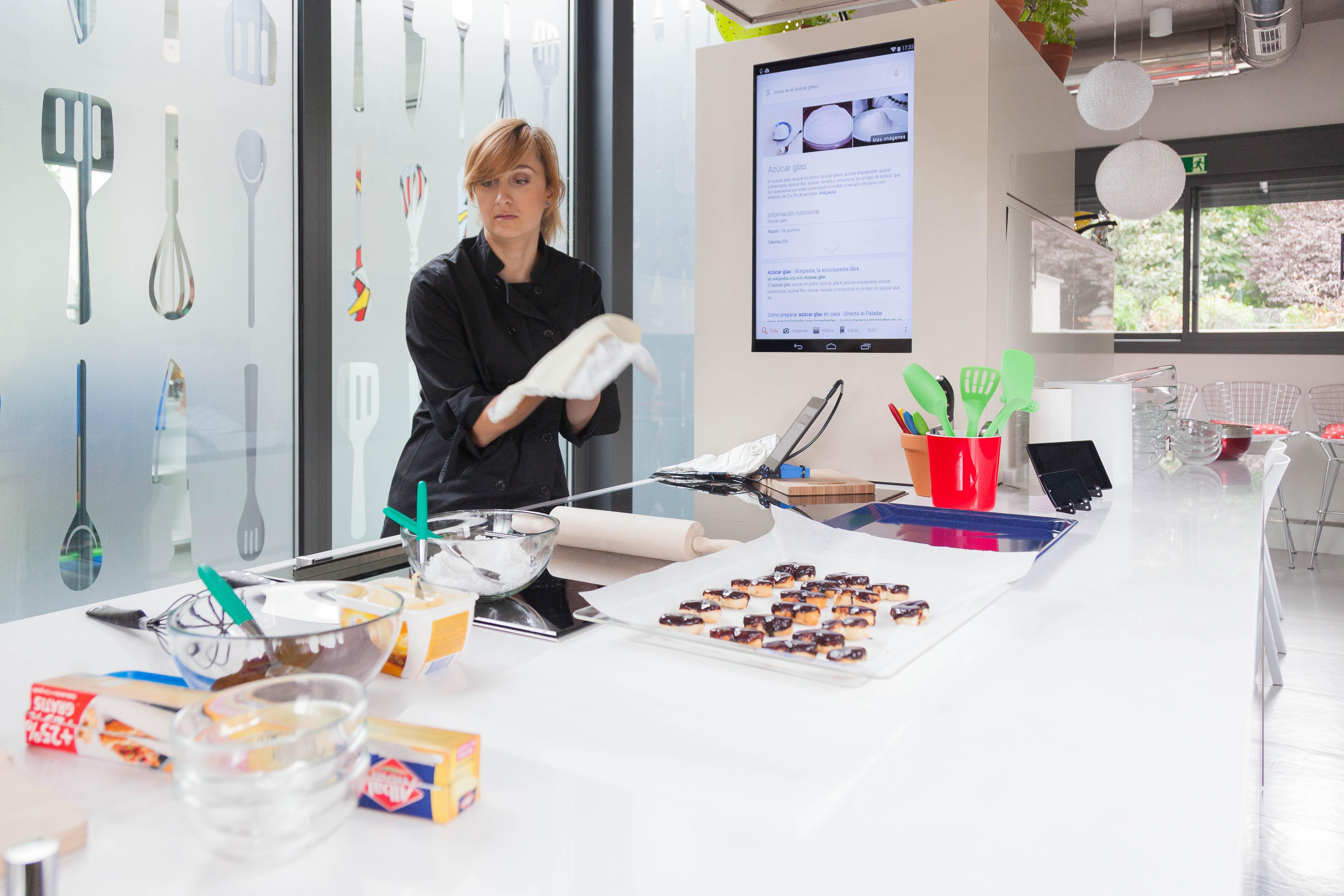 aplicaciones de google a la cocina