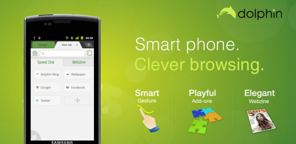 Dolphin Browser Android 1