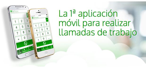 Bizphone la primera app móvil para hacer llamadas de trabajo