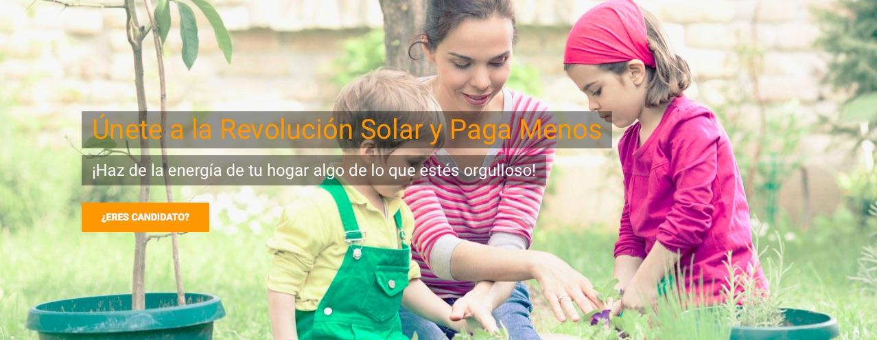 Únete a la revolución de la energía solar y paga menos